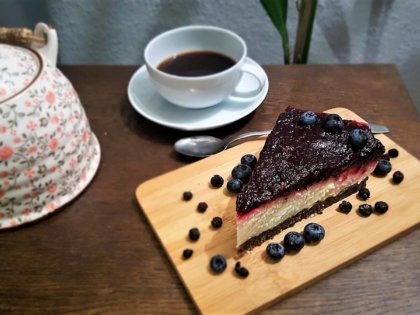 Pumpernickel-Rote-Bete-Cheesecake