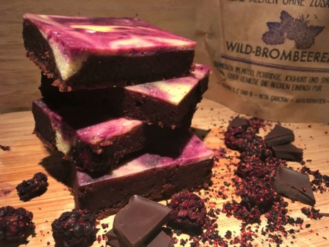 Brombeer-Cheesecake-Brownies (2)
